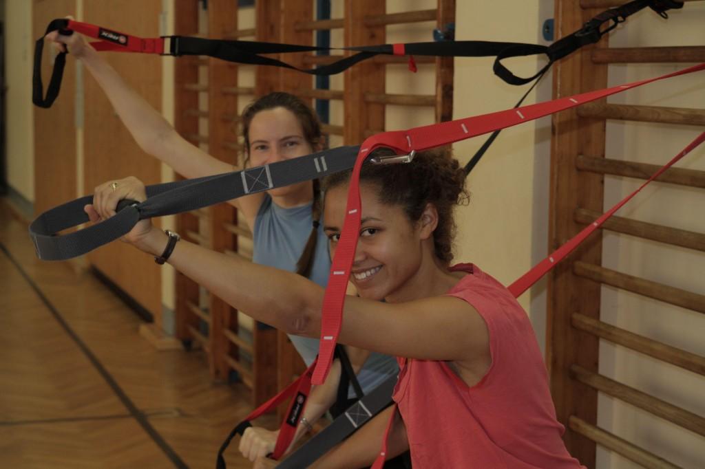Motivierendes Training unter professioneller Anleitung. / Sport@Lauftreff-Berlin.de